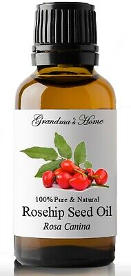 Unrefined Rosehip Seed Oil - 100% Pure and Natural - Free Shipping - US Seller!