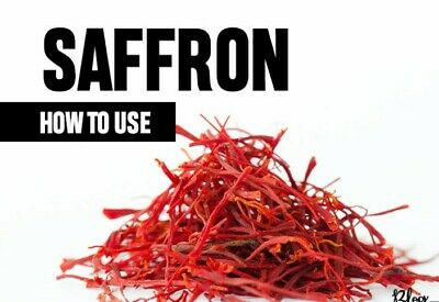 Premium Quality Grade II - ISO Certified Spanish Saffron-No Additives/Chemicals