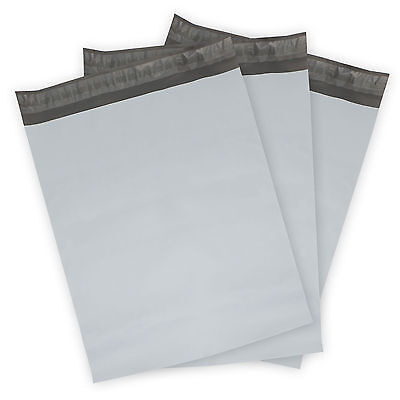 25 - 12x15.5 WHITE POLY MAILERS ENVELOPES BAGS SELF SEALING  2.5Mil EXTRA Thick