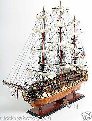 "38"" Uss Constitution Exclusive Edition  Old Ironside Fully Assembled"