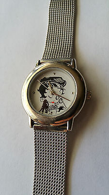 Betty Boop Watch Valdawn Model 5083 With Adjustable Metal Band