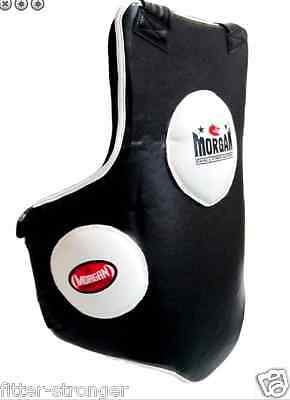 NEW MORGAN BELLY PAD BOXING BODY SHIELD MMA GUARD KIDNEY CHEST sternum PROTECTOR