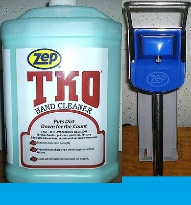 Zep Tko Hand Cleaner 4 Gallon Case  + Zep® D4000 Dispenser With Free Shipping