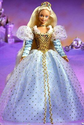 Barbie as Cinderella 1997 Doll Collector Edition Mattel Childrens Series NRFB