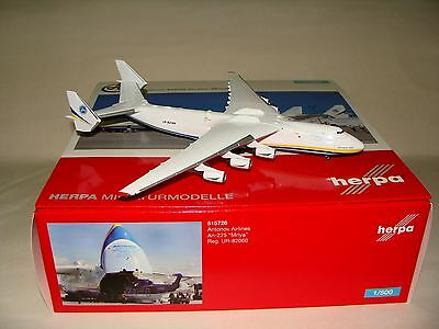 515726 1:500 Herpa Wings Antonov Airlines AN-225 free shipping
