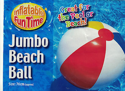 Inflatable 61cm PANEL Beach Ball Holiday Swimming Pool Summer Party Water 24inch