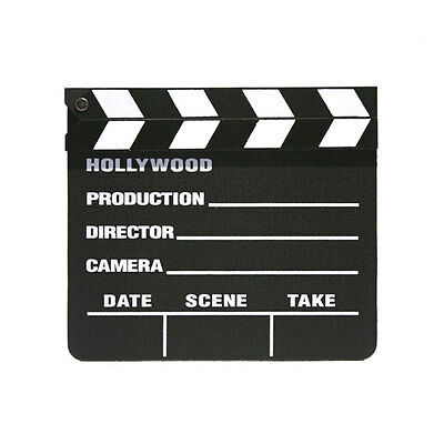 Hollywood Movie Clapper Board   Lights! Camera! Action! Take One! Make Movies