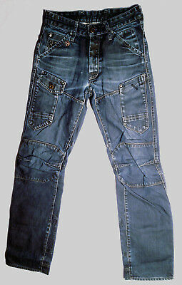 G-Star Raw Jeans GENERAL 5620 TAPERED Size W28 L32 Dark Coated EUC Mens or Boys