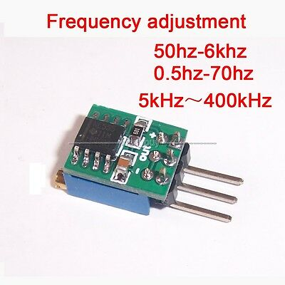 5V-15V NE555 square wave output module oscillator pulse generator signal source