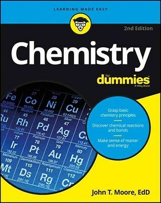 Chemistry For Dummies 9781119293460, Paperback, BRAND NEW FREE P&H