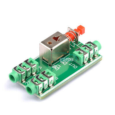 Audio Switching Board 3.5mm audio input A / B Group input Switch Select output M
