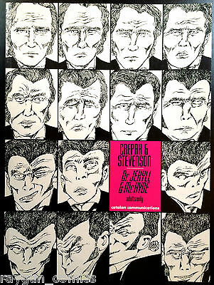 Dr. Jekyll & Mr. Hyde by Crepax & Stevenson Softcover Graphic Novel Catalan