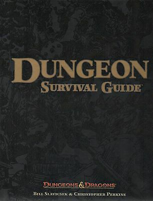 Dungeons & Dragons-D&D-SURVIVAL GUIDE-RPG-Rolplaying Game-(HC)-new-very rare