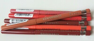 Rimmel Lip Liner.exaggerate Full Colour Lip Liner.various Shades .new.