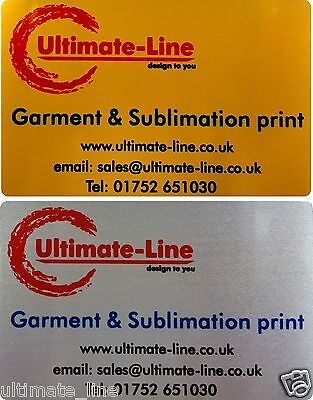 Aluminium metal business cards membership cards loyalty professional aluminium metal business cards membership cards loyalty professional print reheart Gallery