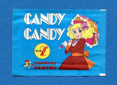 Bustina/Packet - figurine-Stickers - CANDY CANDY 2° - PANINI 1979 - Piena -New