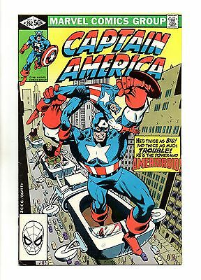 Captain America Vol 1 No 262 Oct 1981 (VFN+ to NM-)
