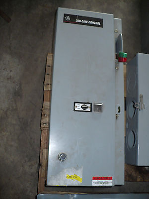 GE 300-Line Control Combination Starter, Size 0, Used