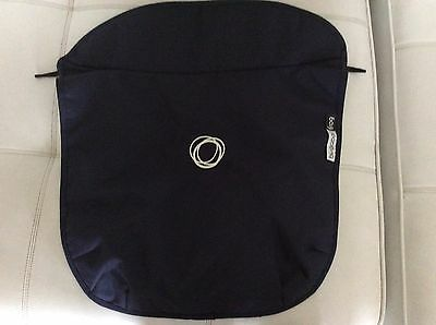 Bugaboo Frog Stroller Bassinet Apron Blue canvas Fabric EUC Baby Carrycot Cover