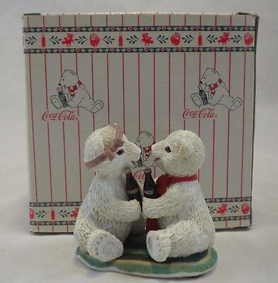 There's Nothing Like a Friend Coca Cola Polar Bear Cubs Collection 1995 H72017