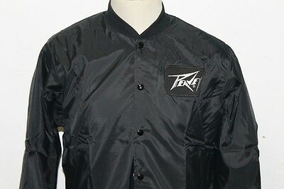VINTAGE 1980's PEAVEY SATIN MUSIC JACKET MEN'S M SWINGSTER OLD NEW STOCK
