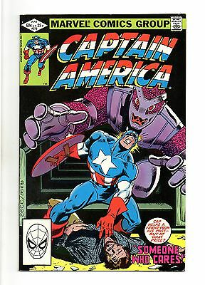 Captain America Vol 1 No 270 Jun 1982 (VFN+ to NM-)