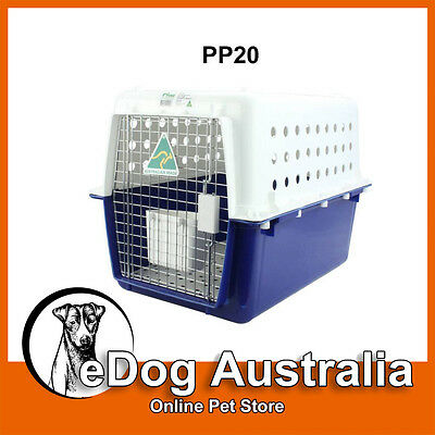 Airline Approved Crate PP20 Dog Cat Pet Carry Carrier Cage Portable