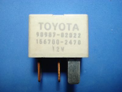 Denso Replaces Toyota 90987-02022 OEM Relay AC Clutch Fan