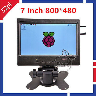 7 inch TFT Monitor Screen 800*480 LCD Display for Raspberry Pi 3/ Pi 2/ B+/ A+
