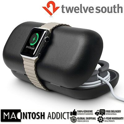 Twelve South TimePorter Travel Accessory Case + Stand For Apple Watch BLACK