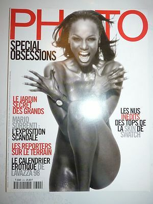PHOTO FRENCH MAGAZINE #344 novembre 1997 special obsessions Tyra Banks