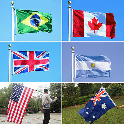 Hot 3×5 World Country Flags High Quality Indoor Outdoor Home Decoration