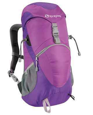 Sprayway Sirius 25 Litre Womens Ladies Walking Hiking Rucksack - Imperial Purple