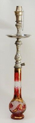 Islamic Antique Ottoman Hookah Inlaid with mother of pearl
