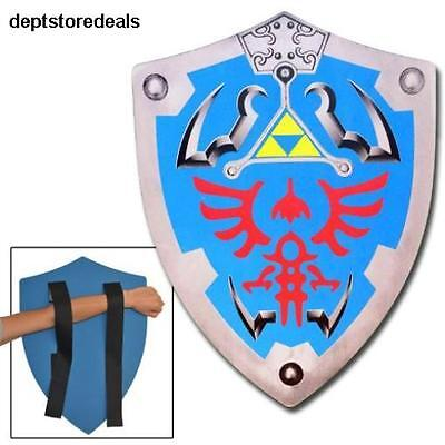 Legend of Zelda Link Hylian Hyrule Triforce Foam Shield LARP Foam Material