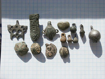 Ancient Lot Kievan Rus' Chernyakhov Culture Clothes Parts Patches Buttons