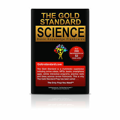 GAMSAT Preparation: Science Review Flashcards by Gold Standard