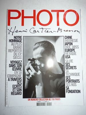 PHOTO FRENCH MAGAZINE #4 Hors serie aout 2004 Henri Cartier Bresson