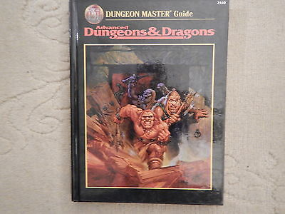Advanced Dungeons&Dragons Dungeon Master's Guide AD&D 1st Printing