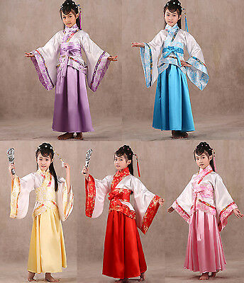 Lovely Girl's Chinese Traditional Ancient Infanta Dramaturgic Dress DanceCosplay