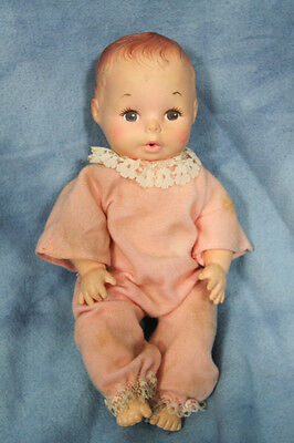Eegee Baby Doll Vintage in pink clothes
