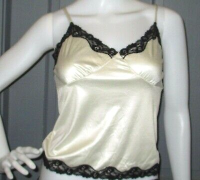 NWT womens EXPRESS camisole LACE TRIM cami S small NEW