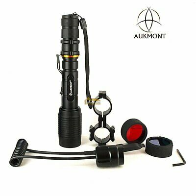 Cree XML-L2 Zoomable Scope Mount Flashlight Lamping Lamp Hunting Gun Air Rifle