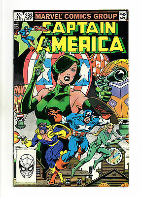 Captain America Vol 1 No 283 Jul 1983 (VFN+ to NM-)