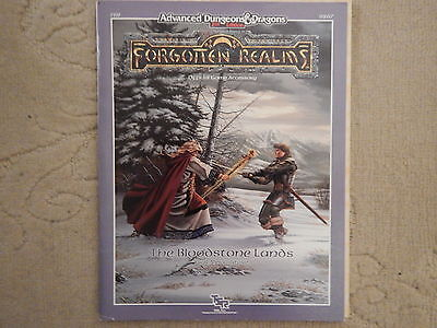 Advanced Dungeons&Dragons 2nd Ed Forgotten Realms The Bloodstone Lands AD&D D&D