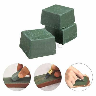 3PCS Leather Strop Sharpening Compound Micron Stropping Leathercraft Abrasive