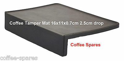TAMPER Tamping MAT *16 x 11cm* protect your coffee Tamper & edge of Benchtop
