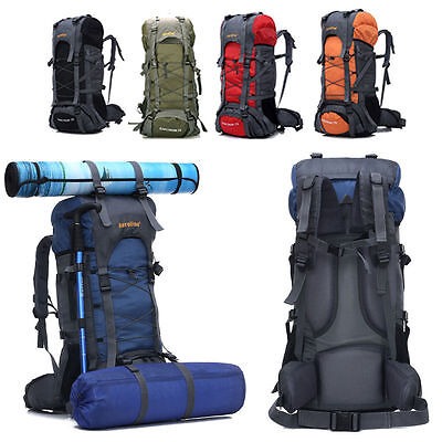 Large Outdoor Military Tactical Rucksack Backpack Mens Camping Hiking Travel Bag