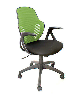 Austin Green Mesh Back Operator Task Computer Compact Office Chair Graded 95%