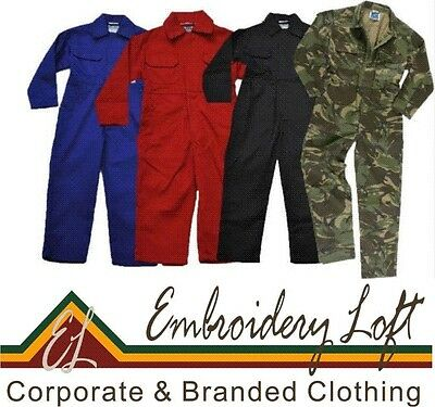 NEW KIDS CHILDRENS BOYS GIRLS OVERALLS,COVERALLS,BOILERSUIT 4 colours 7 sizes